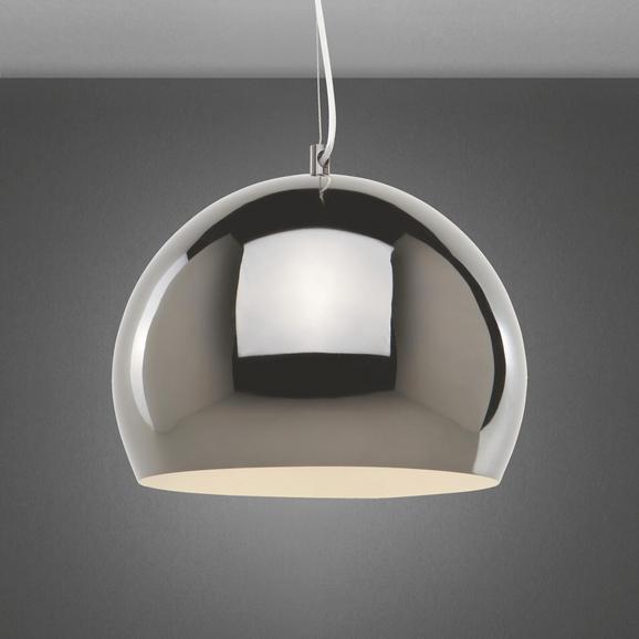 Hängeleuchte Cromo - Schwarz, Glas/Metall (30/30cm) - premium living