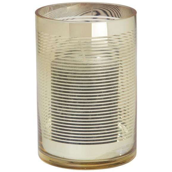 Windlicht Juliette in Goldfarben Ø 10cm - Goldfarben, Glas (10/15cm) - Mömax modern living