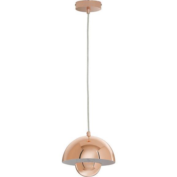 Pendelleuchte Jazzy - Kupferfarben, Metall (20/20/120cm) - Bessagi Home