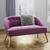 Sofa in Beere 'Sophia' - Beere, MODERN, Holz/Textil (126,5/77/75cm) - Bessagi Home