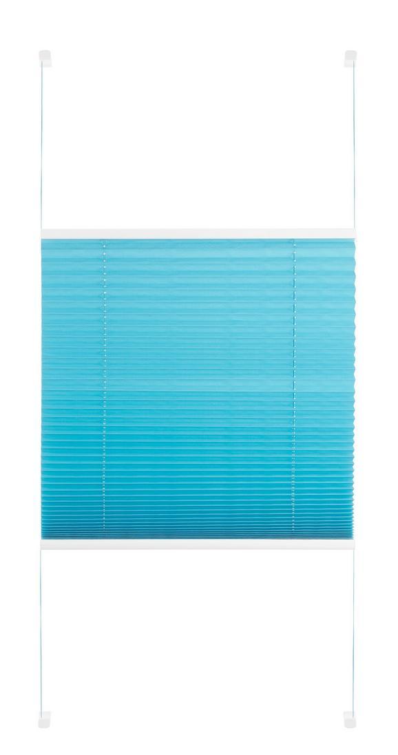 Plise Free - petrolej, tekstil (60/130cm) - Premium Living