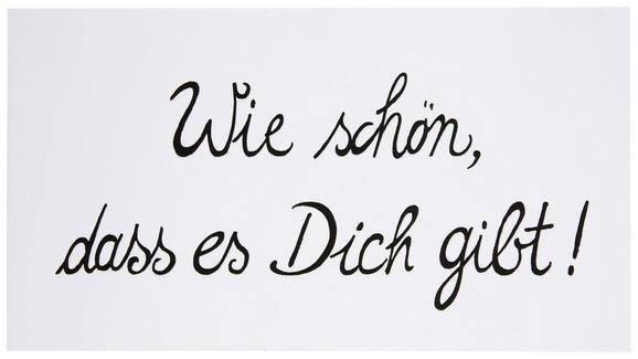 Postkarte Michael Schwarz/Weiß - Schwarz/Weiß, KONVENTIONELL, Papier (12,5/23cm)