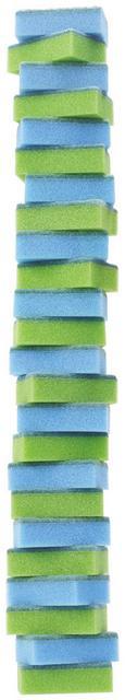 Schwamm Beate in Grün/blau, 24 Pkg. - Blau/Grün, Kunststoff (58/8/5cm) - Based