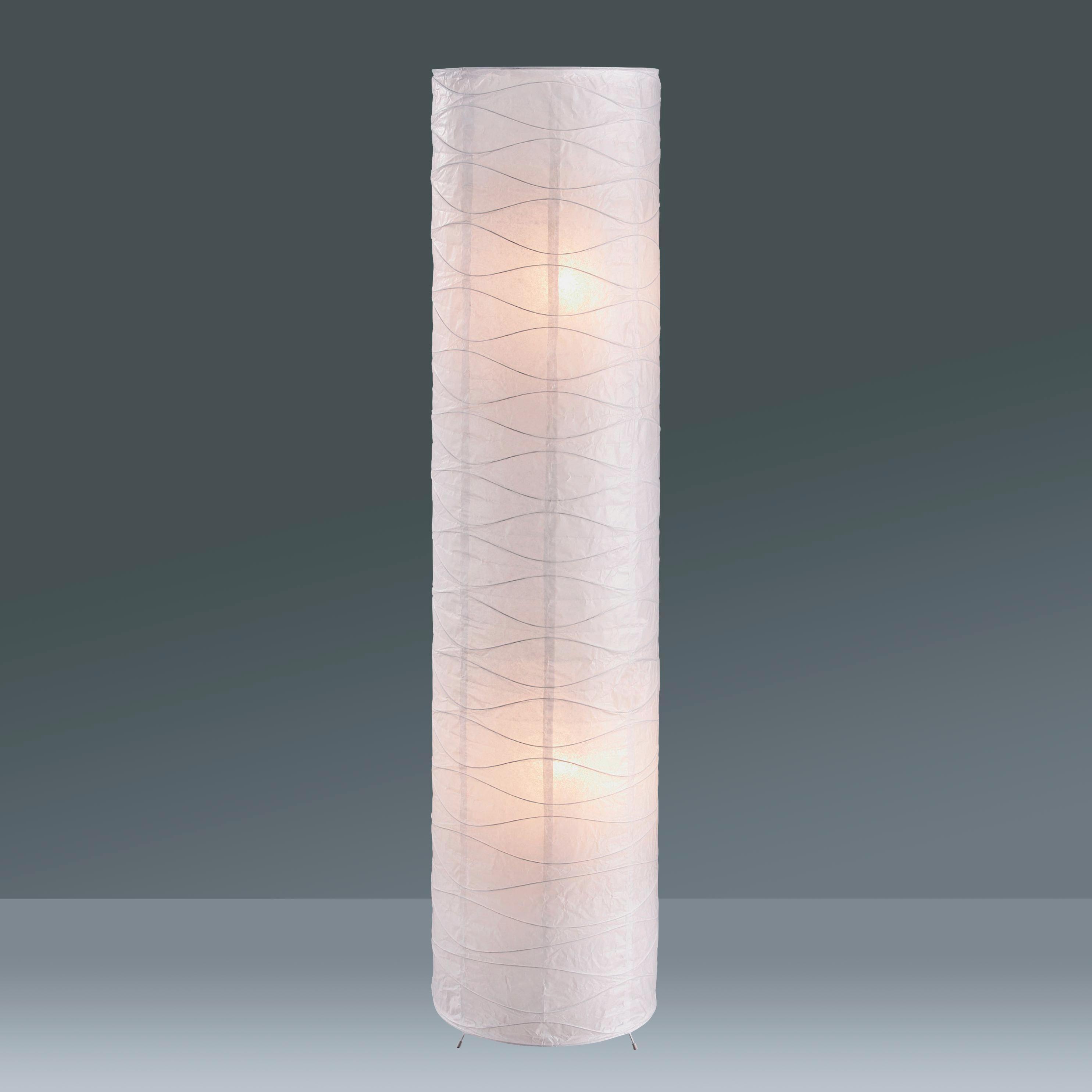 stehlampe papier led stehlampe aus weiem papier fr ihr wohnzimmer limbo with stehlampe papier. Black Bedroom Furniture Sets. Home Design Ideas