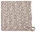 Kuhinjska Prijemalka Ameline - sivo rjava, Romantika, tekstil (20/20cm) - Zandiara
