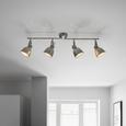 Reflektor Ulf - siva, Moderno, kovina (83/21cm) - Premium Living