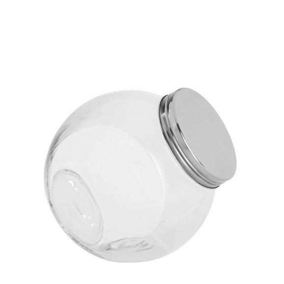 RECIPIENT PENTRU CONDIMENTE ANTONIUS -BASED- - clar/culoare inox, metal/pahar (16/11/16,5cm) - Based