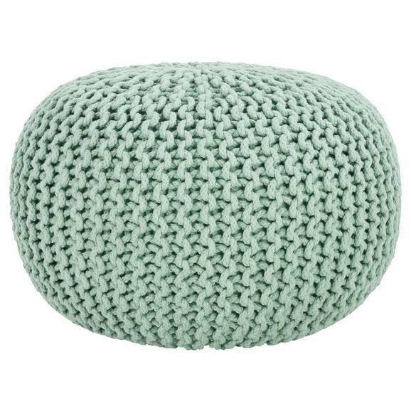 Sedežna Blazina Aline - svetlo zelena, tekstil (50/30cm) - Premium Living
