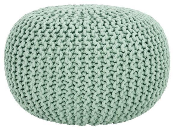 Sitzkissen Aline Hellgrün ca. 55x35cm - Hellgrün, Textil (55/35cm) - Premium Living