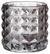 Teelichthalter Jolina - Hellgrau, MODERN, Glas (9,8/9,8cm) - Mömax modern living