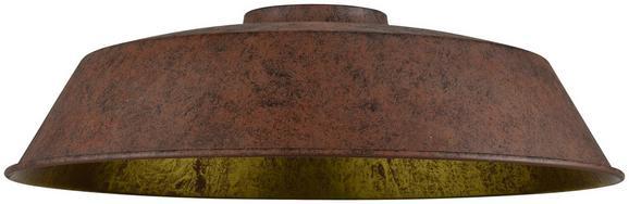 Leuchtenschirm Felix Rostfarben - Rostfarben, LIFESTYLE, Keramik (36cm) - Modern Living
