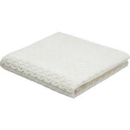 Gästetuch Carina Weiß - Weiß, ROMANTIK / LANDHAUS, Textil (30/50cm) - Mömax modern living
