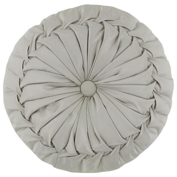 Okrasna Blazina Round - srebrna, Trendi, tekstil (38cm) - Mömax modern living