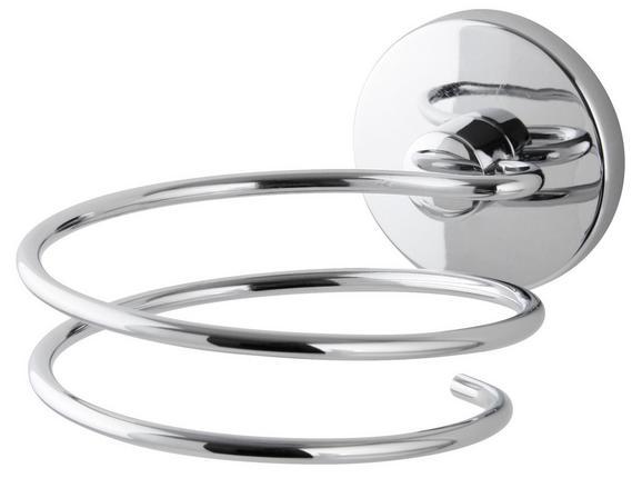Hajszárító Tartó Vision  -sb- - krómszínű, fém (10/8/13cm)