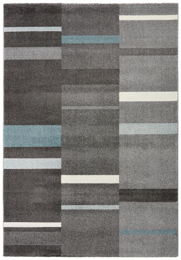 Tkana Preproga Sofia 1 - modra/siva, tekstil (080/150cm) - Mömax modern living