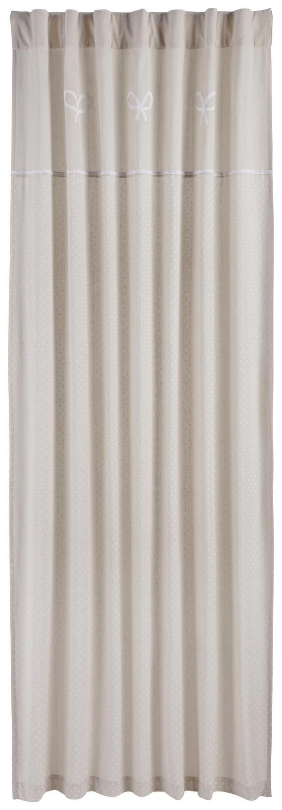 Schlaufenschal Elisabeth Beige 140x245cm - Beige, ROMANTIK / LANDHAUS, Textil (140/245cm) - ZANDIARA