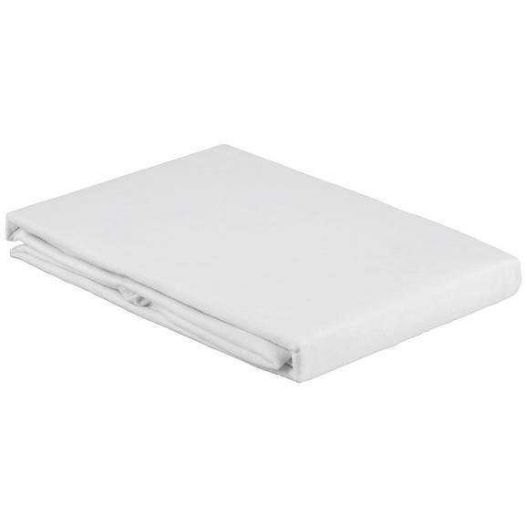 Matratzenauflage in Weiß ca. 160x200cm - Weiß, Textil (160/200cm) - Mömax modern living
