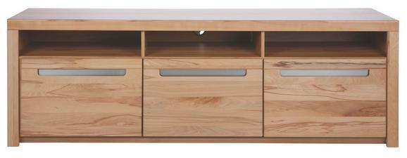 TV-Element aus Kernbuche Massiv - KONVENTIONELL, Holz/Holzwerkstoff (178/59/50cm) - Zandiara