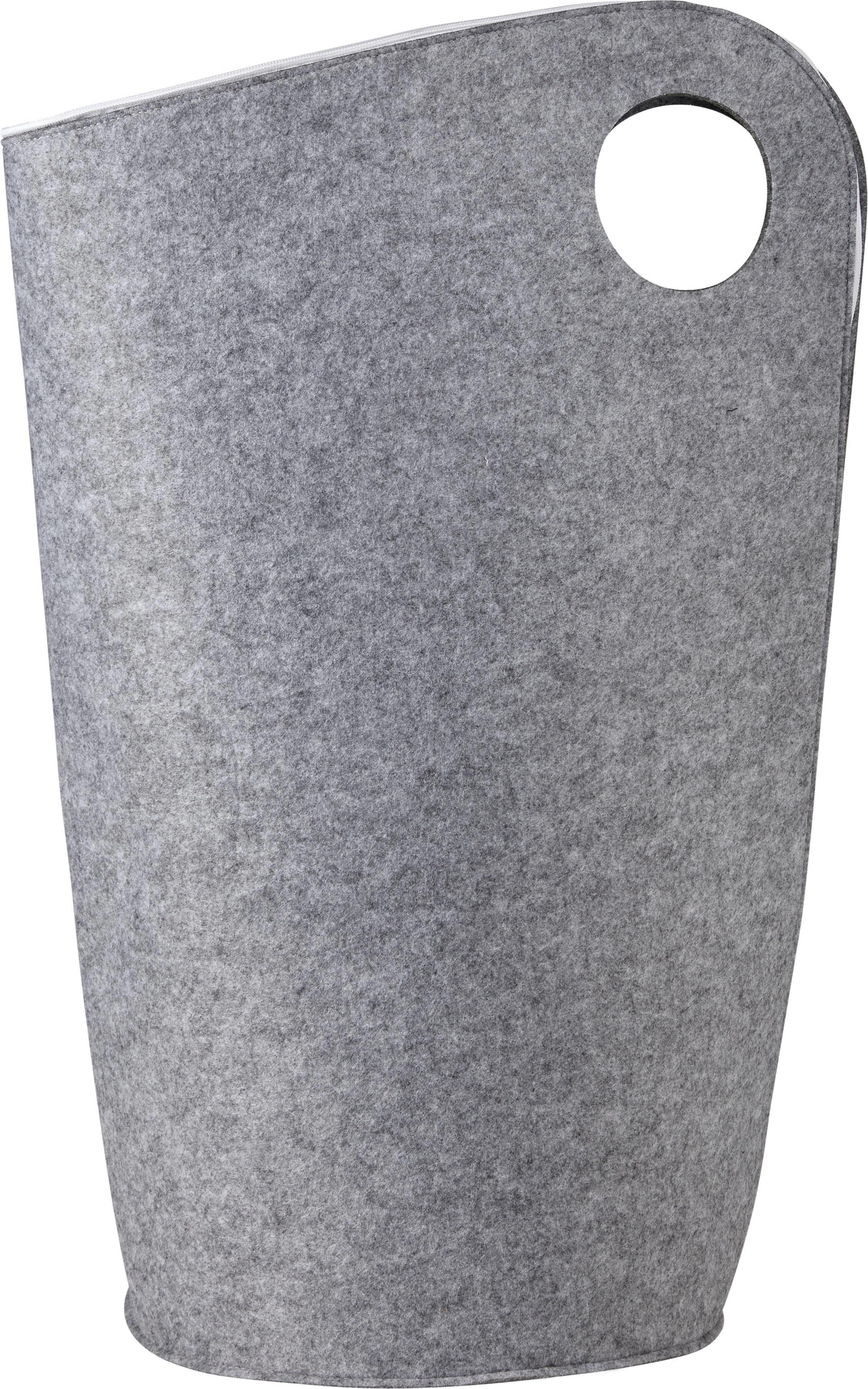 Wäschebox Amira - Hellgrau, MODERN, Textil (45/31/68cm) - MÖMAX modern living