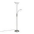 Stehleuchte Lupo, max. 33 Watt - Weiß, KONVENTIONELL, Glas/Metall (30/180cm) - Mömax modern living