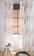 Schlaufenschal Gräser, ca. 135x245cm - Grau, MODERN, Textil (135/245cm) - Mömax modern living
