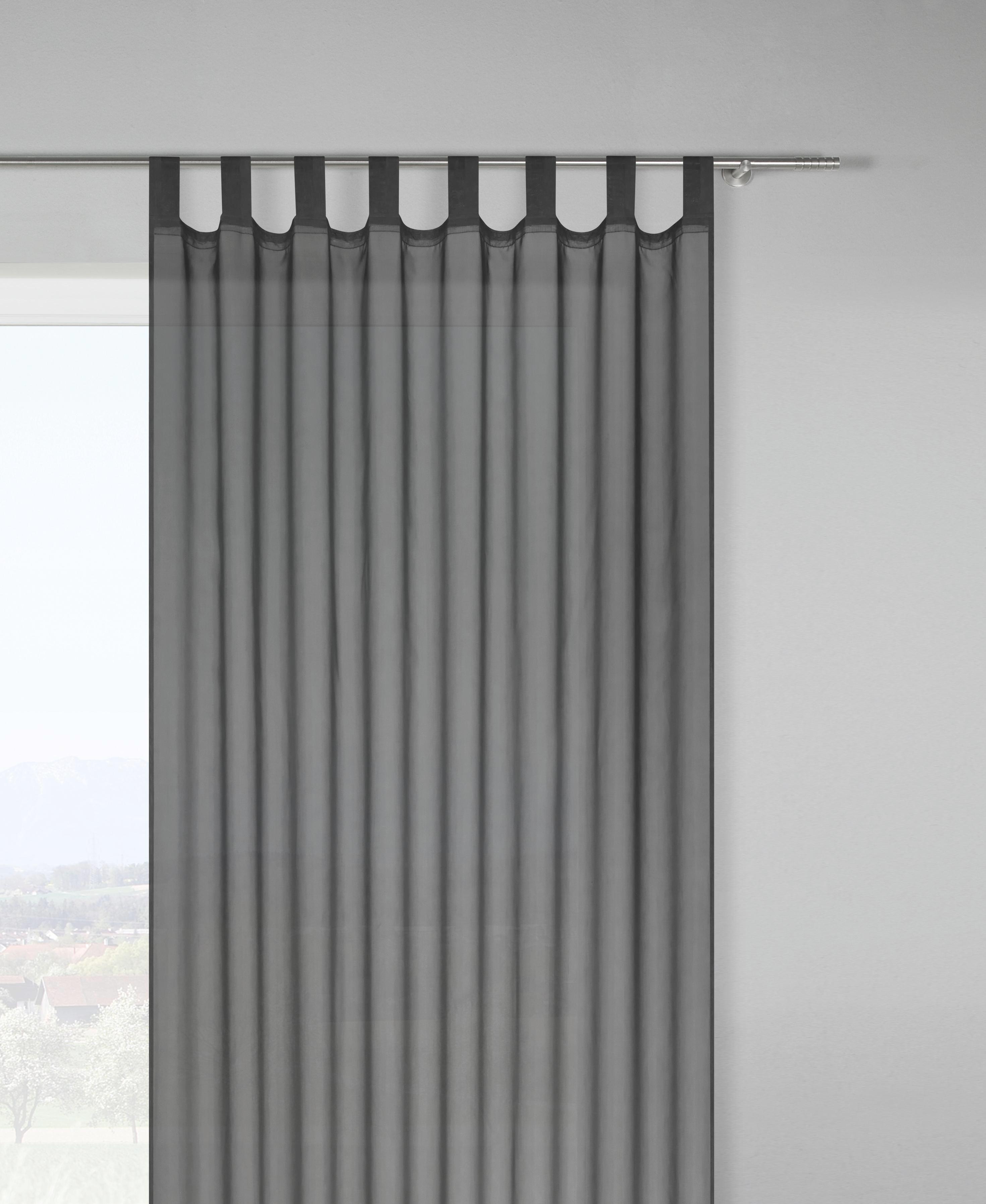 Schlaufenschal Hanna, ca. 140x245cm - Anthrazit, Textil (140/245cm) - MÖMAX modern living