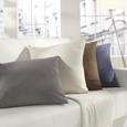 Pernă Decorativă Zippmex - antracit, textil (50/50cm) - Modern Living