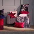 Zierkissen Love+Flowers ca. 45x45cm - Schwarz, ROMANTIK / LANDHAUS, Textil (45/45cm) - Mömax modern living