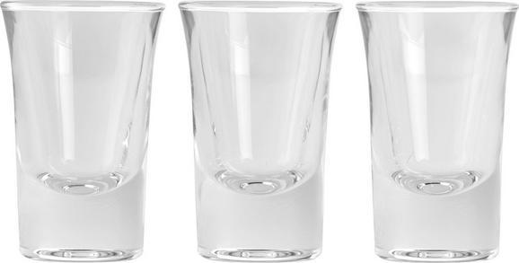 Schnapsglas Dublino ca. 34ml, 3-teilig - Klar, Glas (0,034l) - Mömax modern living