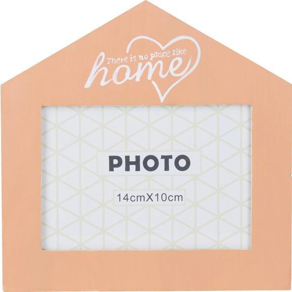 Bilderrahmen Home In Orange, Ca. 14x10cm - bela/oranžna, steklo/les (18/18/1cm) - Mömax modern living