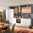 Küchenblock IP1200/2200 - Eichefarben/Hellgrau, MODERN, Holzwerkstoff (310cm) - Impuls