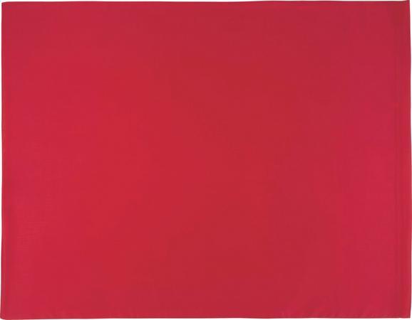 Kissenhülle Belinda, ca. 70x90cm - Rot/Dunkelrot, Textil (70/90cm) - PREMIUM LIVING