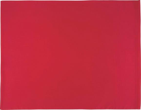 Prevleka Blazine Belinda - rdeča/temno rdeča, tekstil (70/90cm) - Premium Living