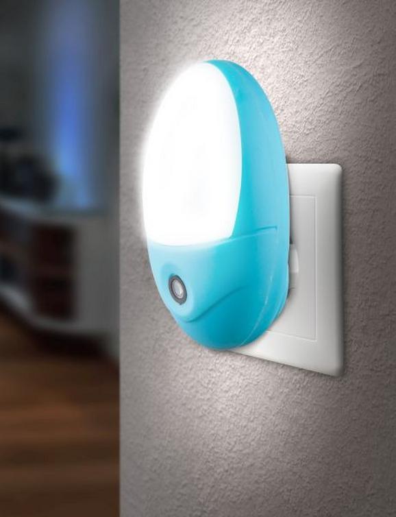 Dugós Csatlakozó Lámpa Enio - Kék, konvencionális, Műanyag (10,5/17,5cm) - Mömax modern living
