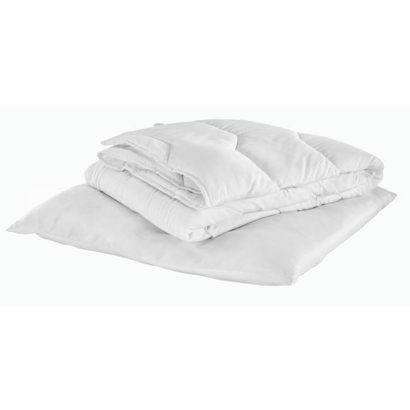 Bettenset Sabine ca. 135x200cm - Weiß, Basics, Textil (135/200cm) - Based