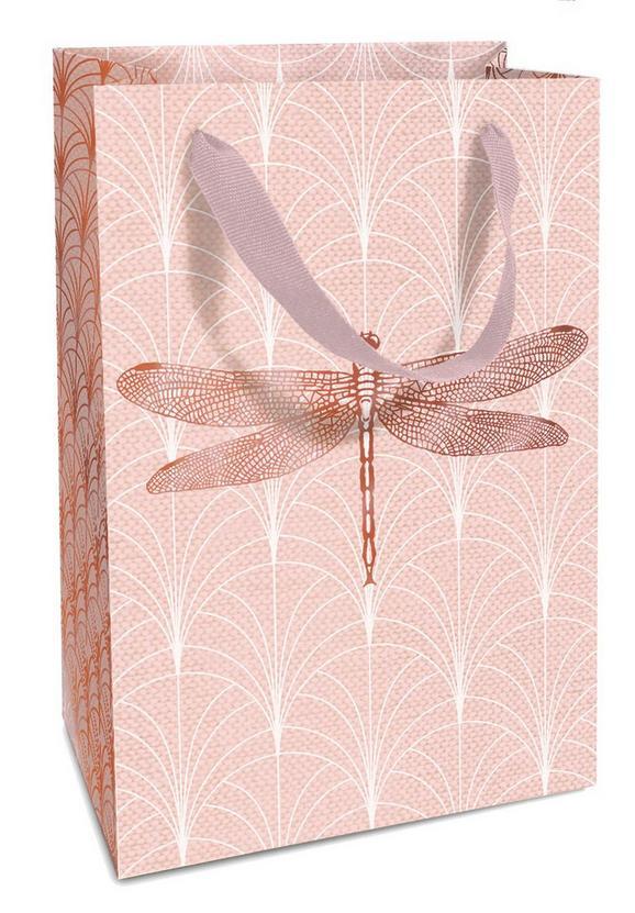 Geschenktasche Jana Hellrosa - Hellrosa, Papier (17/13/4cm)