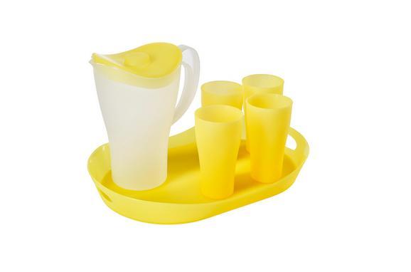 Picknickset Nina 6-teilig in Gelb - Gelb, Kunststoff - MÖMAX modern living