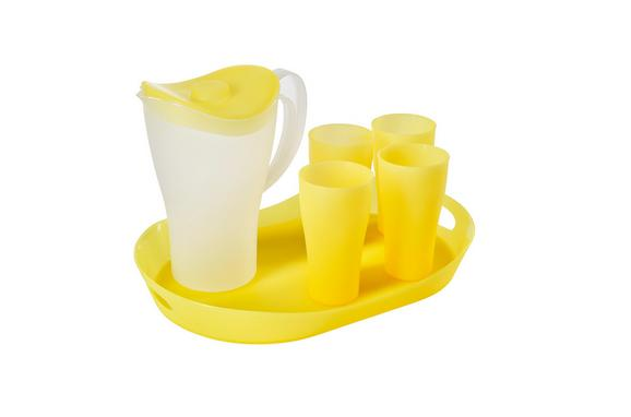 Set Za Piknik Nina - rumena, umetna masa - Mömax modern living
