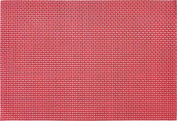 Tischset Stefan In Rubinrot - Rot, Kunststoff (45/30cm) - MÖMAX modern living