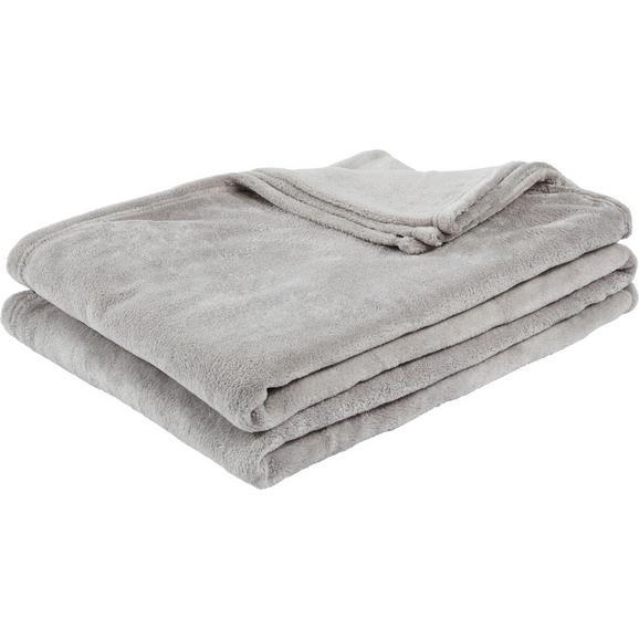 Pătură Pufoasă Kuschelix - grej, textil (140/200cm) - Modern Living