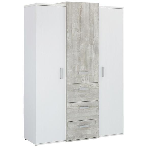 kleiderschrank wei grau online kaufen m max. Black Bedroom Furniture Sets. Home Design Ideas