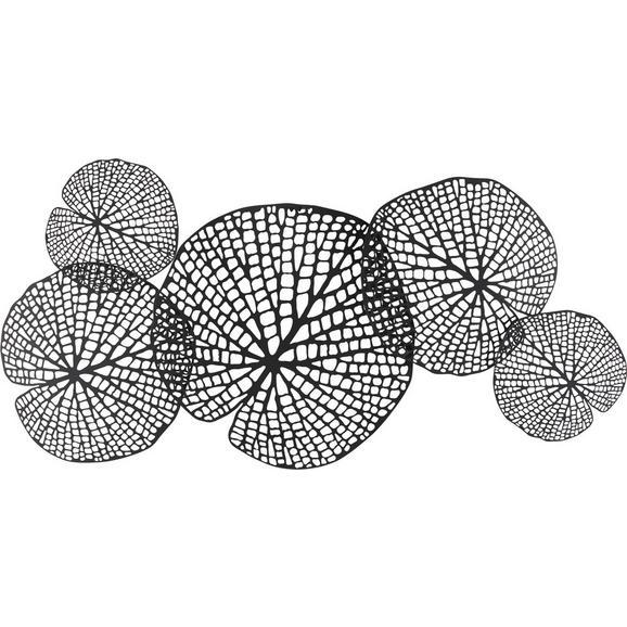 Stenska Dekoracija Toy - črna, Trendi, kovina (97/47/3cm) - Mömax modern living