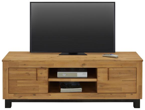 Nizka Omarica Aruba - akacija, Konvencionalno, leseni material/les (140/45/50cm) - ZANDIARA