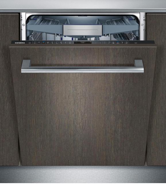 Geschirrspüler Siemens Sn758x06te, EEZ A+++ - Edelstahlfarben/Weiß (59,8/81,5/55cm) - Siemens