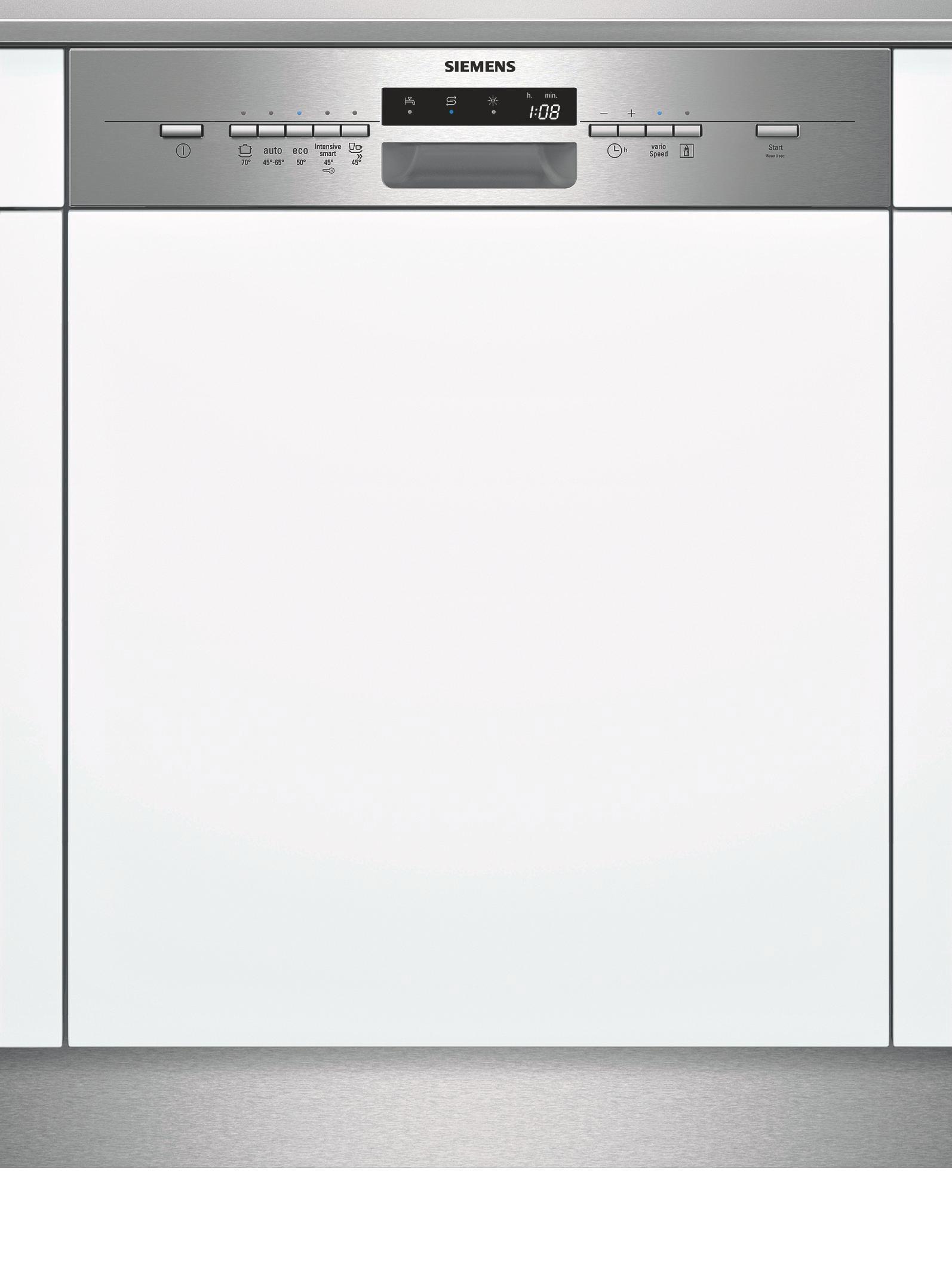 Geschirrspüler Siemens Sn55l581eu, EEZ A++ - MODERN, Kunststoff/Metall (59,8/81,5/57,3cm) - SIEMENS
