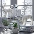 Dekohirsch Hirsch Weiß - Weiß, Keramik (15,8/6,2/11,4cm) - Mömax modern living
