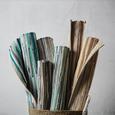 Handwebteppich Verona in Blau ca. 60x120cm - Blau, Basics, Textil (60/120cm) - Modern Living