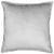 Zierkissen Janet Silberfarben 45x45cm - Silberfarben/Hellgrau, LIFESTYLE, Textil (45/45cm) - Premium Living
