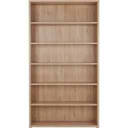 Regal Eichefarben - Eichefarben, MODERN, Holzwerkstoff/Kunststoff (120/217/40cm) - Premium Living