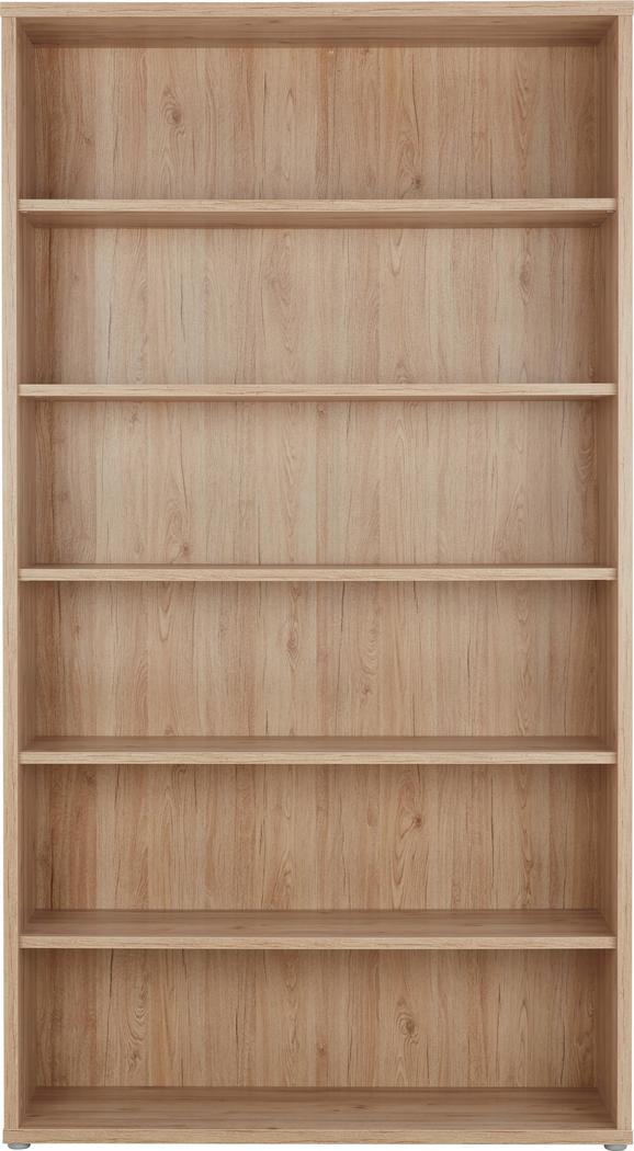 Regal in Eichefarben - Eichefarben, MODERN, Holzwerkstoff/Kunststoff (120/217/40cm) - PREMIUM LIVING